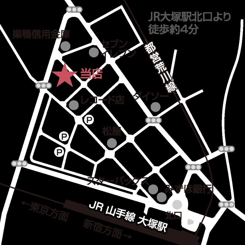 〒170-0004東京都豊島区北大塚2-9-7 豊島電気会館ビル1F